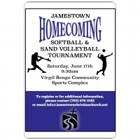Jamestown Homecoming Tournaments at the Virgil Benge Community Sports Complex