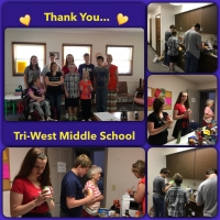 Thank You Tri-West Middle School